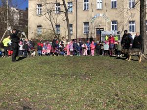 Společné dopoledne dětí z MŠ a strážníků MP (13.3.2019)