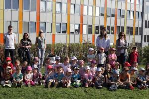 Společné odpoledne dětí z MŠ a strážníků MP P5 (19.4.2018)