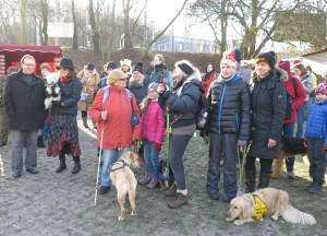 Mikulášská besídka pro psy (3.12.2016)
