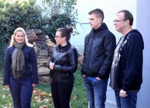 Společné dopoledne MP s dětmi z MŠ a ZŠ Výmolova (9.10.2017)